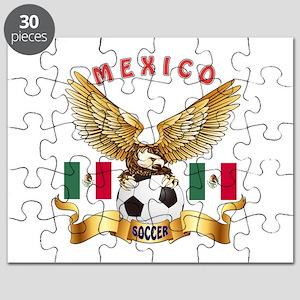 Mexico Football Design Puzzle