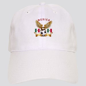 Mexico Football Design Cap