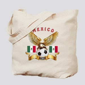 Mexico Football Design Tote Bag