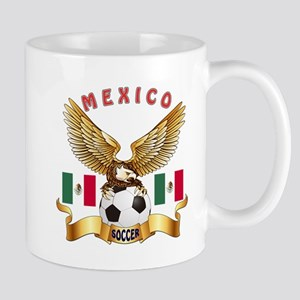 Mexico Football Design Mug
