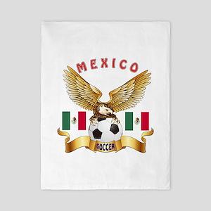 Mexico Football Design Twin Duvet