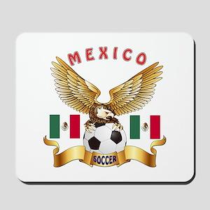 Mexico Football Design Mousepad