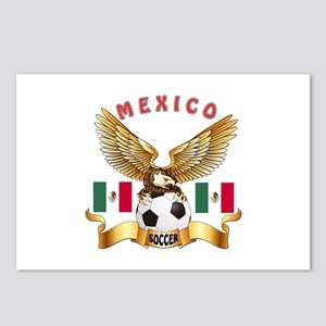 Mexico Football Design Postcards (Package of 8)