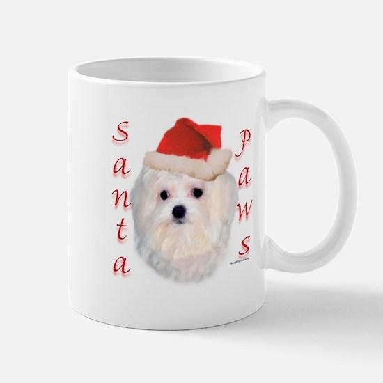 Santa Paws Maltese Mug