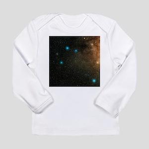 Sagittarius stars - Long Sleeve Infant T-Shirt