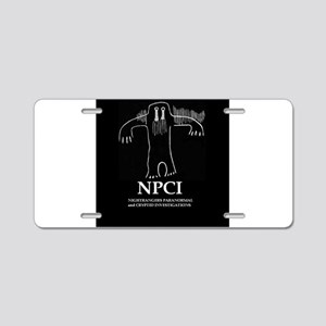 NPCI Aluminum License Plate
