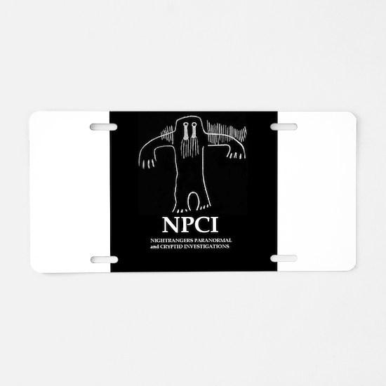 NPCI Aluminum License Plate