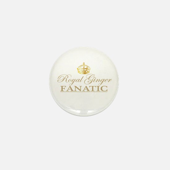 Royal Ginger Fanatic Mini Button