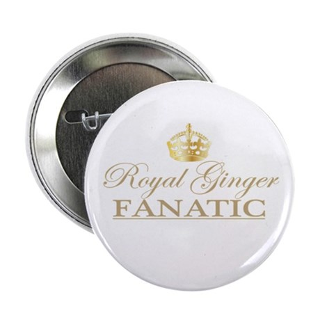 """Royal Ginger Fanatic 2.25"""" Button (10 pack)"""