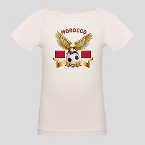 Morocco Football Design Organic Baby T-Shirt