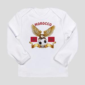 Morocco Football Design Long Sleeve Infant T-Shirt
