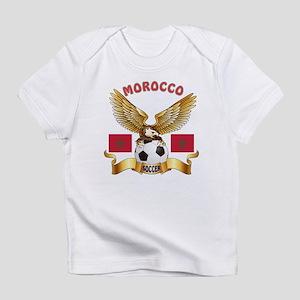 Morocco Football Design Infant T-Shirt