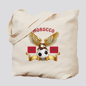 Morocco Football Design Tote Bag