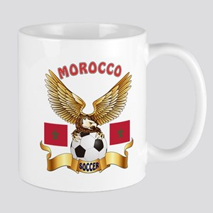 Morocco Football Design Mug