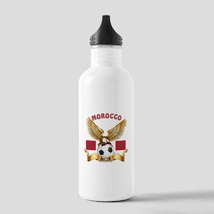 Morocco Football Design Stainless Water Bottle 1.0