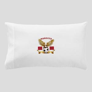 Morocco Football Design Pillow Case