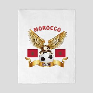Morocco Football Design Twin Duvet