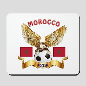 Morocco Football Design Mousepad