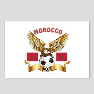 Morocco Football Design Postcards (Package of 8)