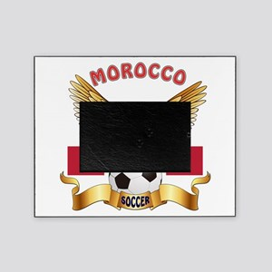 Morocco Football Design Picture Frame