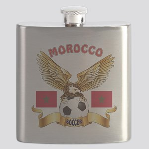 Morocco Football Design Flask