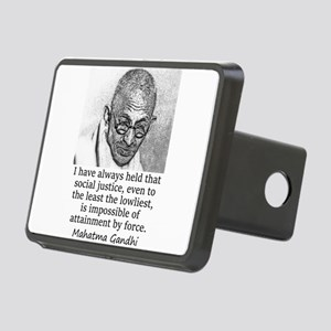 I Have Always Held - Mahatma Gandhi Hitch Cover