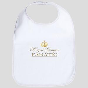 Royal Ginger Fanatic Bib