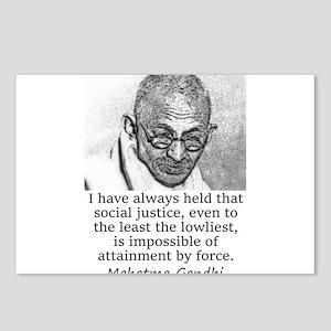 I Have Always Held - Mahatma Gandhi Postcards (Pac