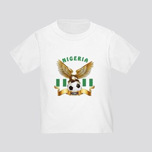 Nigeria Football Design Toddler T-Shirt