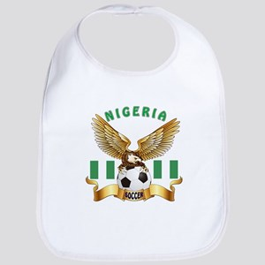 Nigeria Football Design Bib
