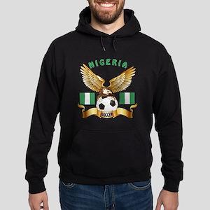 Nigeria Football Design Hoodie (dark)