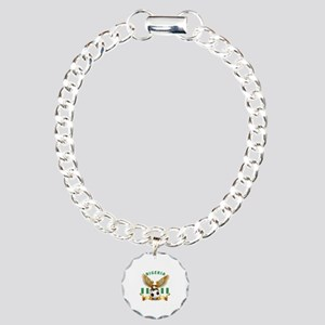 Nigeria Football Design Charm Bracelet, One Charm