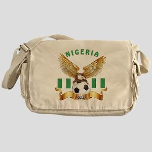Nigeria Football Design Messenger Bag