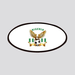 Nigeria Football Design Patches