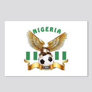 Nigeria Football Design Postcards (Package of 8)