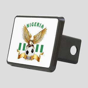 Nigeria Football Design Rectangular Hitch Cover