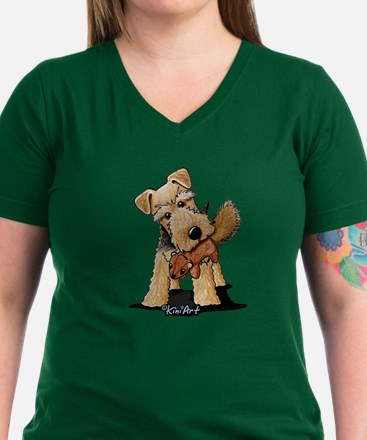 Welsh Terrier With Squirrel Shirt