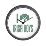 I love Irish Boys Wall Clock