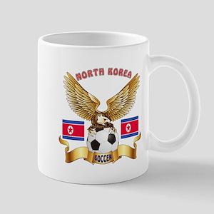 North Korea Football Design Mug