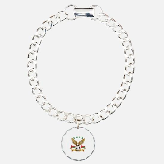 Oman Football Design Bracelet