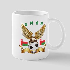 Oman Football Design Mug