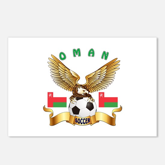 Oman Football Design Postcards (Package of 8)