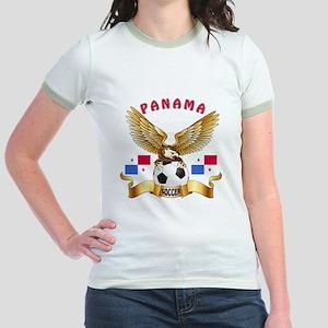 Panama Football Design Jr. Ringer T-Shirt