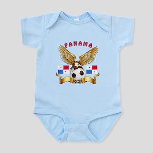 Panama Football Design Infant Bodysuit