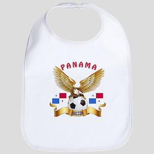 Panama Football Design Bib