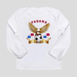 Panama Football Design Long Sleeve Infant T-Shirt