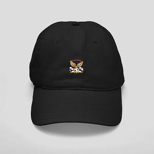 Panama Football Design Black Cap