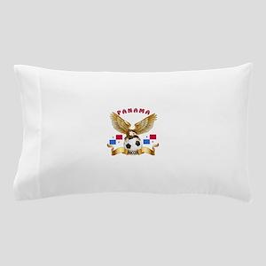 Panama Football Design Pillow Case