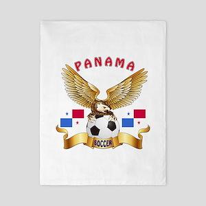 Panama Football Design Twin Duvet