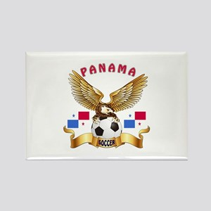 Panama Football Design Rectangle Magnet